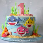 Baby Shark theme cake Bromley Cake shop