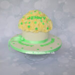 Giant cup cake by bromley london cake shop