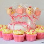 Baby shower cakes and cup cakes