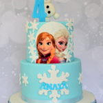 Disney Frozen theme cake dulwich bromley London