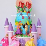 Disney Princess castle cake by 4s Cakes, Beckenahm cake makers