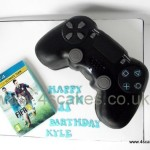 3D Play station cake made by b 4S Cakes Bromley Beckenham Wedding cake makers