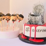 Breaking bad theme cake pops