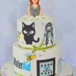 Cake for lady by 4s cakes london based cake shop