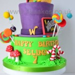 Charlie and the Chocolate factory theme cake