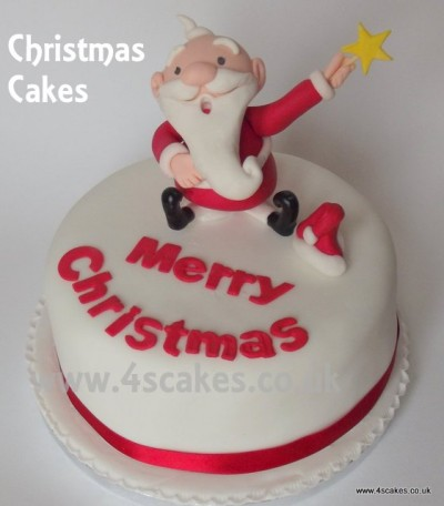 wedding cakes bromley chrismas cake with 3d santa made by 4s cakes bromley 23961