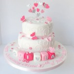 Christening cake by 4S Cakes Bromley, Beckenham wedding cake makers