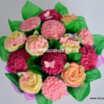 Cup cake bouquet by East dulwich and Beckenham Birthday cake maker