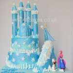 Disney Frozen theme cake in Bromley