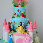 Disney Princess cake A by 4s cakes ,Bromley Greenwich based cake makers