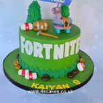 Fortnite cake by London cake makers
