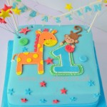 Jungle theme 1st Birtday made by 4s Cakes Bromley, Croydon wedding cake makers