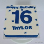 sixteenth birthday cake made by 4S Cakes- Cake shop in Bromley