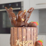 Chocolate drip cake bromley london wedding cake shop