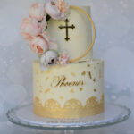 Christening cake by london wedding cake sho