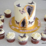 Butterfly cup cake